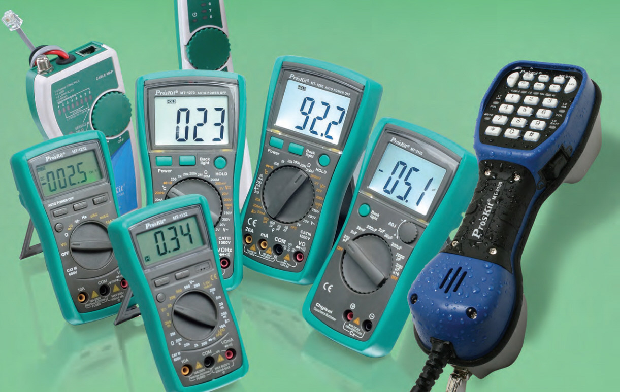 Proskit multimeters